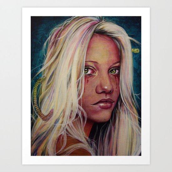 Madame M Art Print