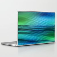 data Laptop & iPad Skins featuring data flow by hannes cmarits (hannes61)