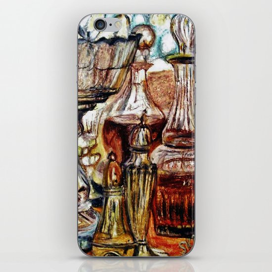 CRAYON LOVE - Crystal iPhone & iPod Skin