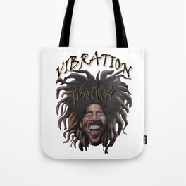 Vibration Positive Tote Bag