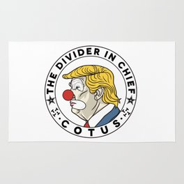 COTUS - Clown of the United States Rug