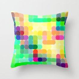 Re-Created Cypher 5.0 by Robert S. Lee Throw Pillow
