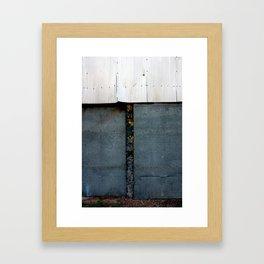 Steel Doors Framed Art Print