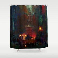 Bethesda Fountain Shower Curtain