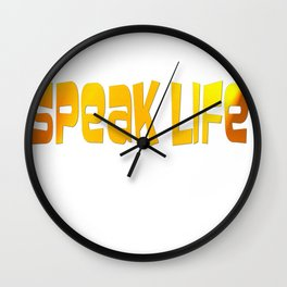 Christian Art Wall Clock