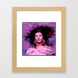 Kate Bush Hounds of Love Framed Art Print