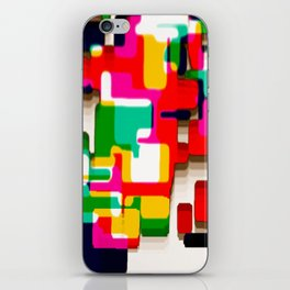 Arcade Crayon Collage iPhone Skin