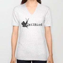Official Asylum JailBird Unisex V-Neck