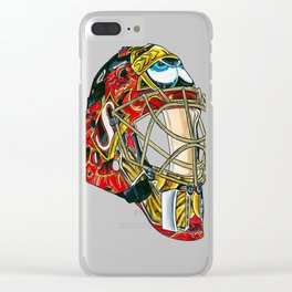 Lalime - Mask Clear iPhone Case