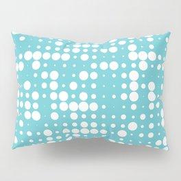 white polka dots Pillow Sham