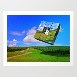 Grove Abstract Art Print