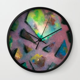Clutter of the inner working of the mind. Wall Clock