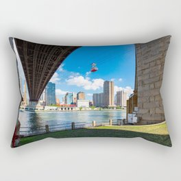 New York and the East river Rectangular Pillow