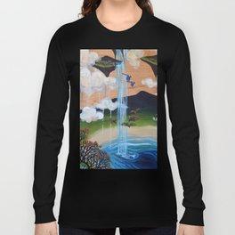 Costa Rican Lagoon Long Sleeve T-shirt