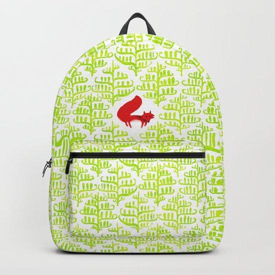 Damask forest pattern Backpack