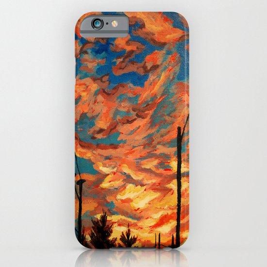 Street Meets Sky  iPhone & iPod Case