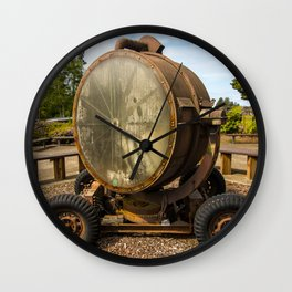 Historic Military Spotlight - Fort Stevens - Oregon Wall Clock