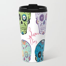 The Four Sugar Skulls . Travel Mug