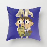 greg guillemin Throw Pillows featuring Greg by pokegirl93