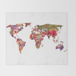It's Your World Throw Blanket