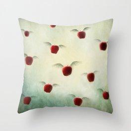 Magic Apples  Throw Pillow