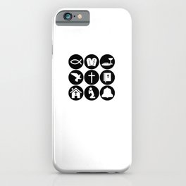 Believer Christ Church | Faith Gift Idea iPhone Case