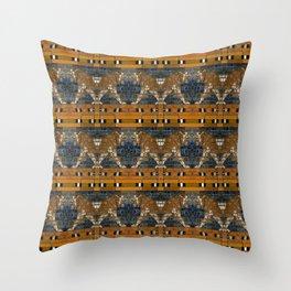 Babylonian lions Throw Pillow