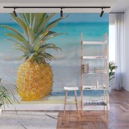 Aloha Pineapple Beach Kanahā Maui Hawaii Wall Mural