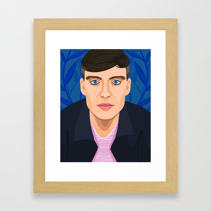 Cillian Murphy Framed Art Print