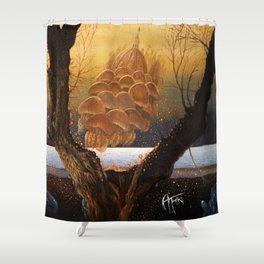 An der Shwelle Shower Curtain
