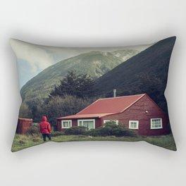 Red stalker hood! Rectangular Pillow