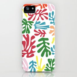 Matisse Pattern 004 iPhone Case