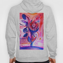 abstract  #215 Hoody
