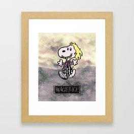 Beaglejuice Framed Art Print
