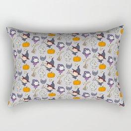 Halloween Little Witch and Friends Rectangular Pillow