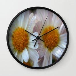 Hazy Day Daisies  Wall Clock