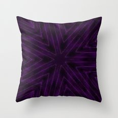 Eggplant Purple Throw Pillow