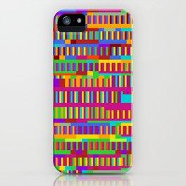 Beethoven Moonlight Sonata (Rainbow Hues) iPhone Case