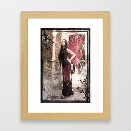 Karolina Fairy Framed Art Print