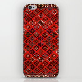 -A30- Red Epic Traditional Moroccan Carpet Design. iPhone Skin