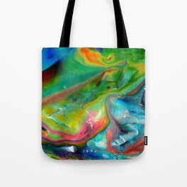 Spring abstraction Tote Bag