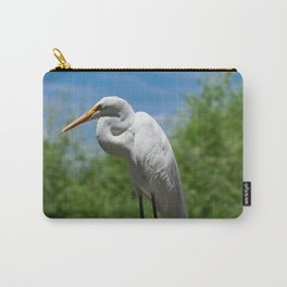 Great Egret Two - Utah Carry-All Pouch
