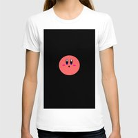 kirby T-shirts featuring Kirby Face by Veronica Grande