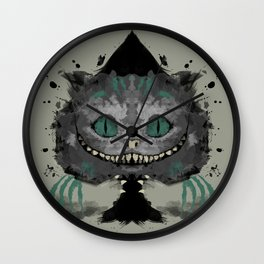 Cat of Spades Wall Clock