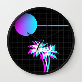 Like the 80s ? Wall Clock
