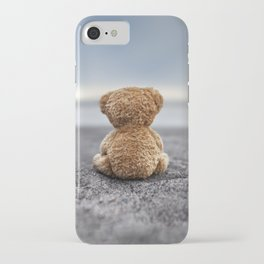 Teddy Blue iPhone Case