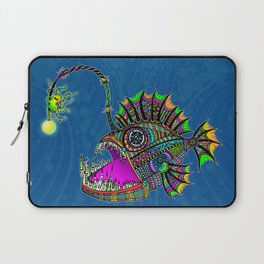 Electric Angler Fish Laptop Sleeve