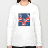 chicago Long Sleeve T-shirts featuring Chicago by Arts and Herbs