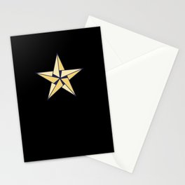 Origami Star Stationery Cards