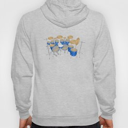 Blue Drum Kit Hoody